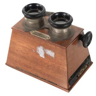 Stereoscope Wooden Viewer by Verascope Richard