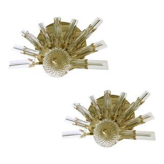 Vintage Stilkronen Crystals Sconces - A Pair