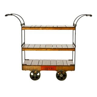 Dept 87, Rolling Display Cart