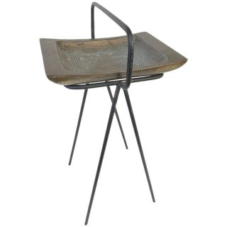 Smoking Stand and Ashtray by Ben Siebel