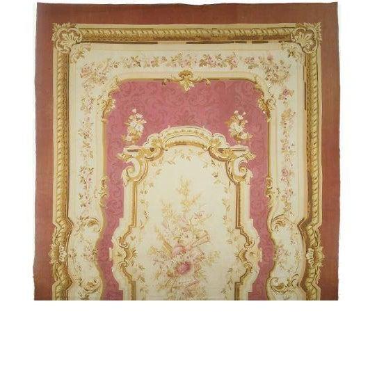 Antique Aubusson Carpet - Image 1 of 1