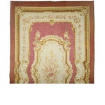 Image of Antique Aubusson Carpet
