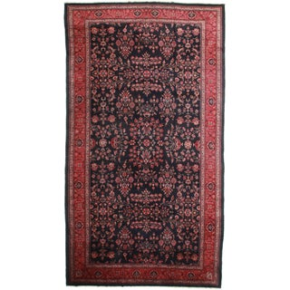 """Antique Turkish Hand-Knotted Rug - 10'9"""" x 19'6"""""""