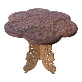 Antique Anglo Indian Wood Table