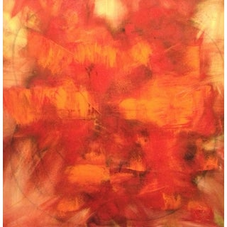 """""""Cleansing Fire of Judgement"""" Oil Painting"""