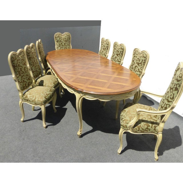Karges Louis XV Style Dining Chairs - Set of 8 - Image 11 of 11