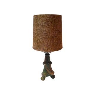 Vintage Candlestick Lamp