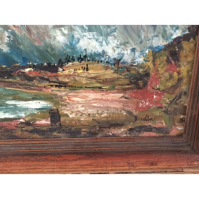 Wynn Breslin Landscape 1960s Oil Painting - Image 7 of 7