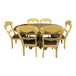 Nichols & Stone Dining Table & 7 Chairs - Dining Set