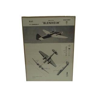 """Vintage WWII """"Blenheim"""" Recognition Poster"""