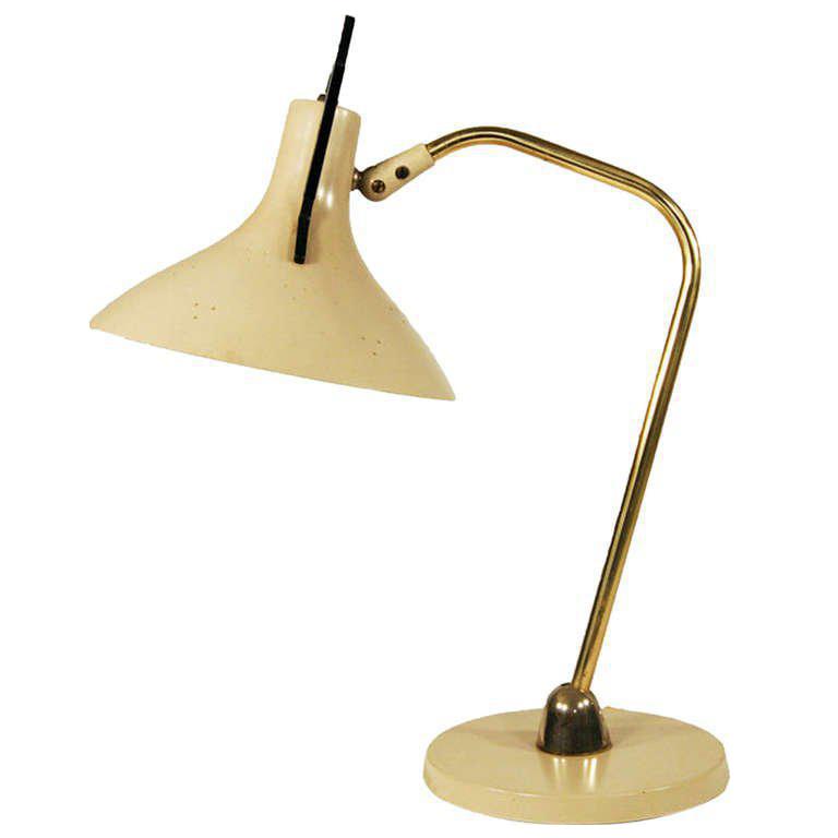 Maurizio Tempestini For Lightolier Anglepoise Desk Lamp