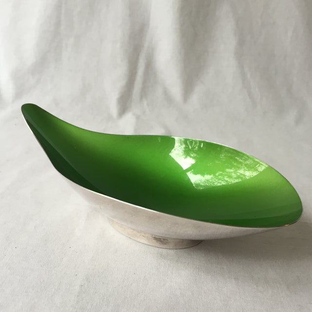 Green Enameled Dish - Image 2 of 5