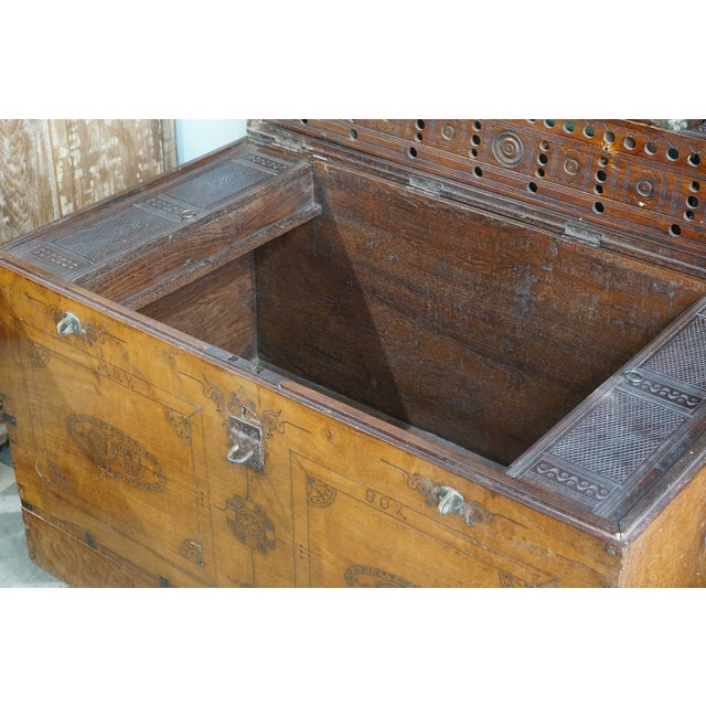 Vintage Jewelry Trunk - Image 8 of 9