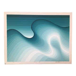 "Roy Ahlgren Limited Edition Print ""Breezin' Up"""