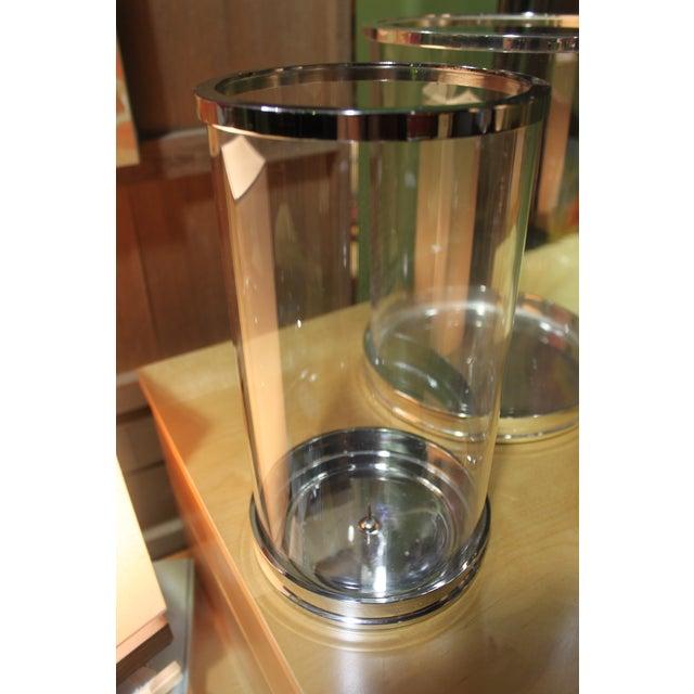 Ralph Lauren Silver Hurricane Lanterns - Set of 3 - Image 8 of 10
