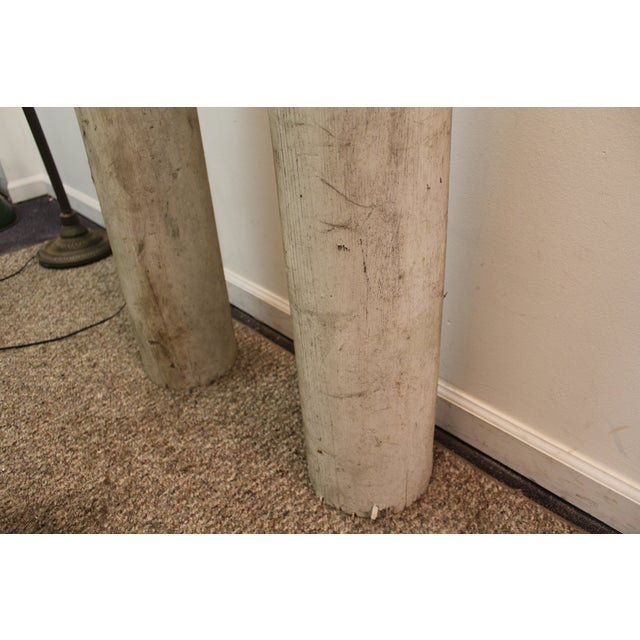 1930s Salvaged Architectural Columns - A Pair - Image 11 of 11