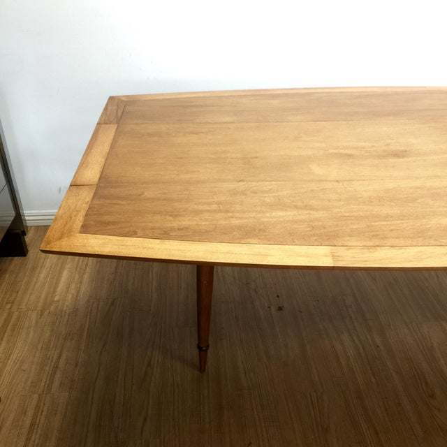 Mid-Century Drop Leaf Dinning Table by Tomlinson - Image 4 of 8
