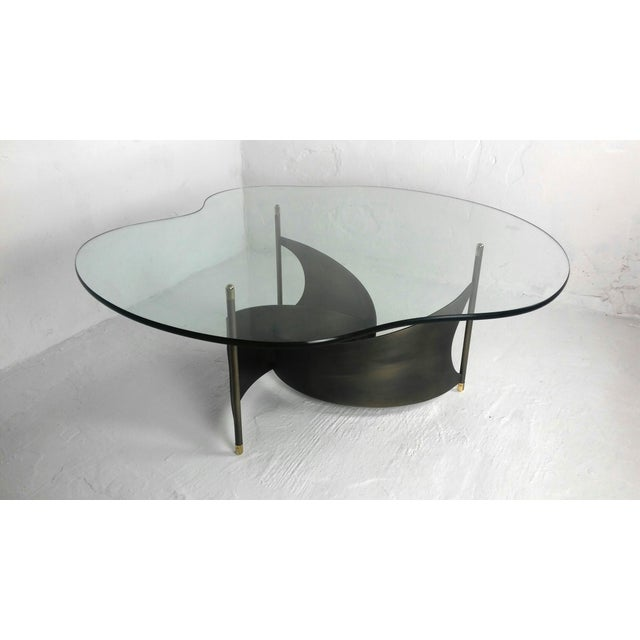 Mid-Century Propeller Base Coffee Table - Image 2 of 9