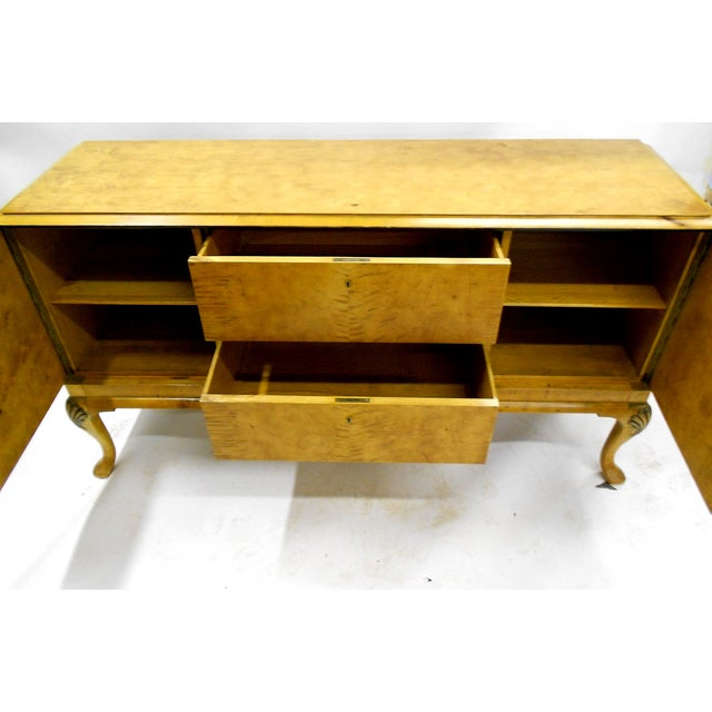 1880s Danish Birch Credenza/Buffet - Image 4 of 7