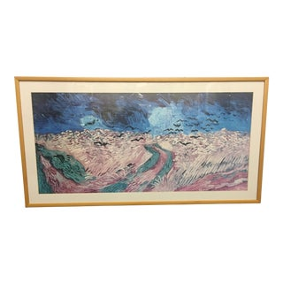 Oblong Abstract Framed Picture