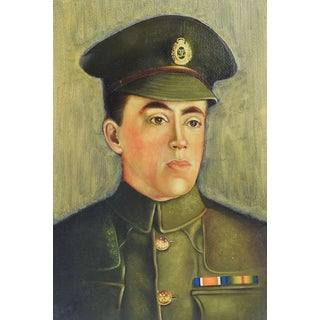 British WWI Soldier Portrait by Mildred Veale