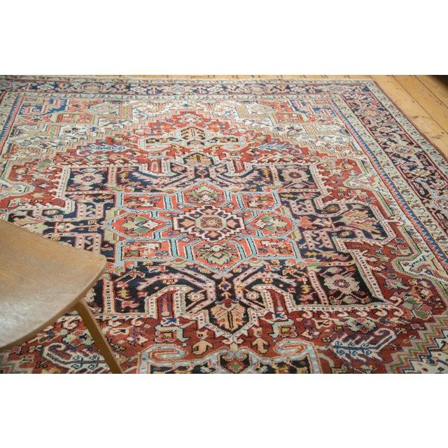"Traditional Vintage Heriz Carpet - 8'2"" X 10'4"" - Image 8 of 10"