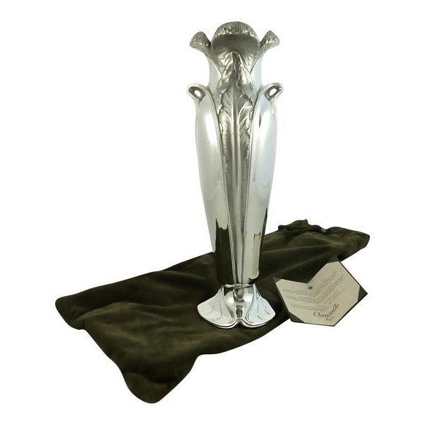 "Christofle ""Ombelle"" Vase Haute Orfeverie - Image 2 of 7"
