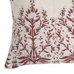Image of Block Print Linen Pillow
