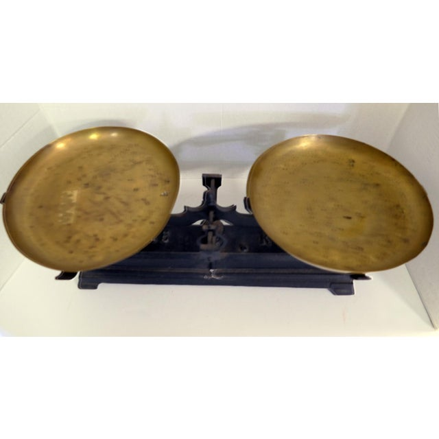 Antique French Kitchen Scale