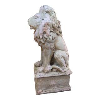 Vintage Composite Lion
