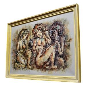 Three Nude Women by Calvin Waller Burnett