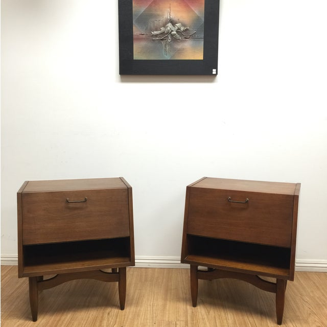 American of Martinsville Night Stands - Pair - Image 2 of 8