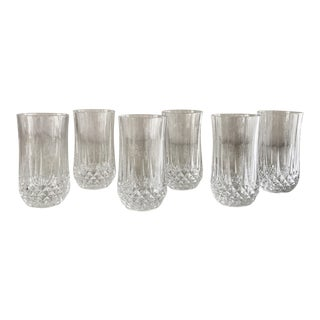Heavy Crystal Glasses - Set of 6