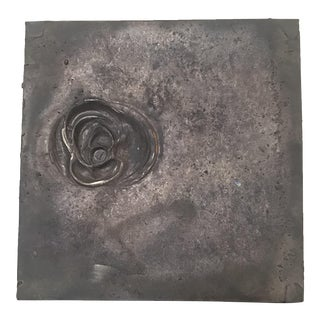 Cast Bronze Square Plaque