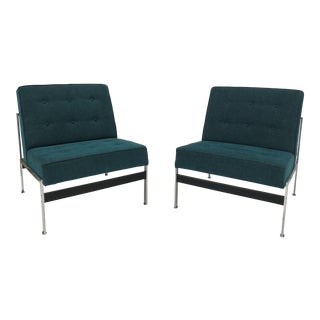 Rare Pair of 020 Lounge Chairs by Kho Liang Ie for Artifort 1958