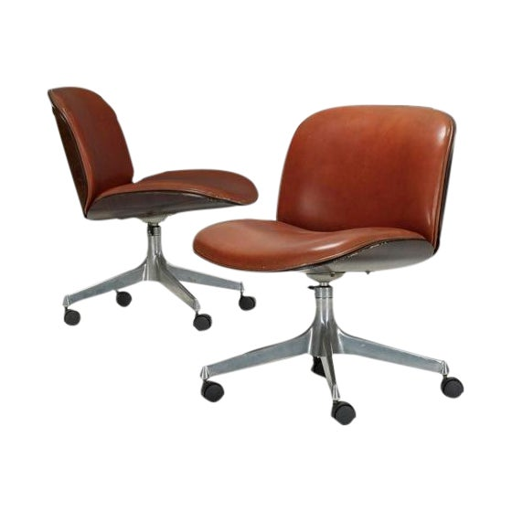 Ico Parisi Office Chair for Mim - A Pair - Image 1 of 5