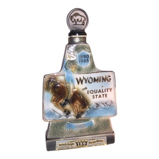 1965 Jim Beam Wyoming Decanter Diamond Jubilee