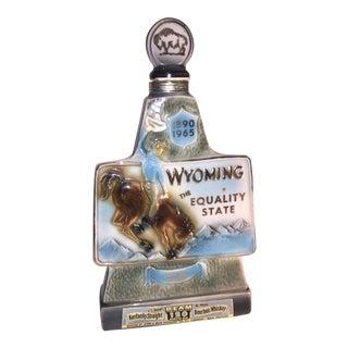 1965 Jim Beam Wyoming Decanter Diamond Jubilee