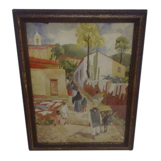 """TAXCO 1931"" Painting by Richard Crist"