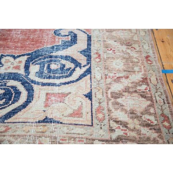 "Distressed Oushak Carpet - 6' X 9'4"" - Image 10 of 10"