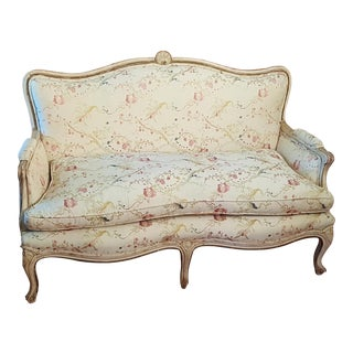 Antique French Provincial Settee