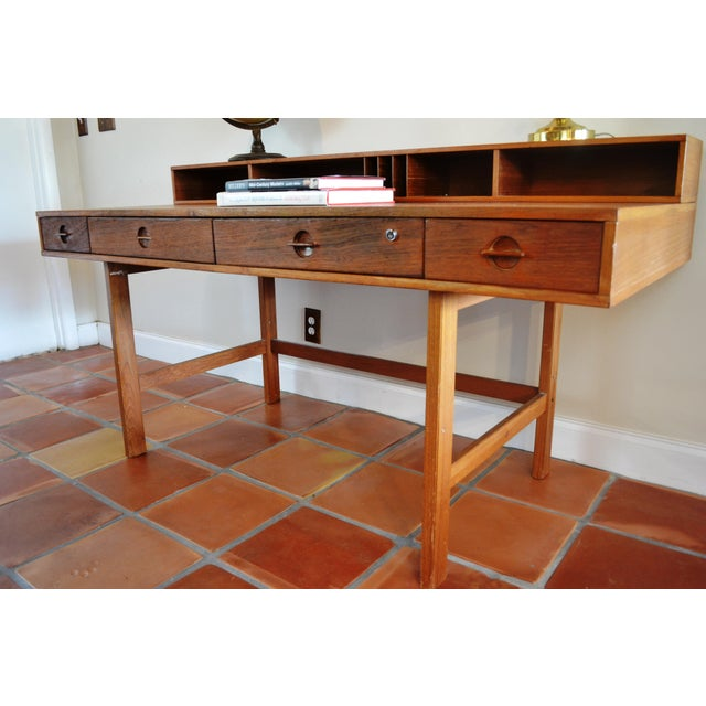 Jens Quistgaard for Lovig Flip-Top Desk - Image 8 of 11
