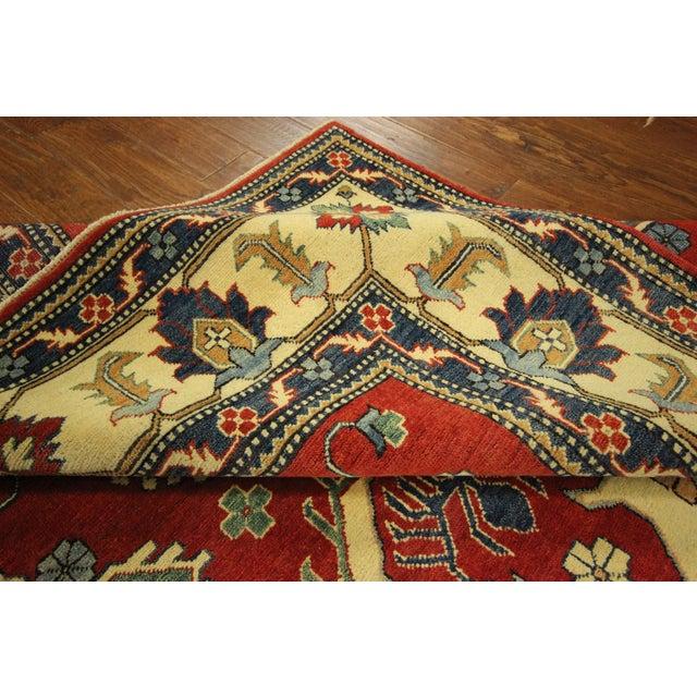 Traditional Super Kazak Rug Red- 8' x 11' - Image 9 of 11