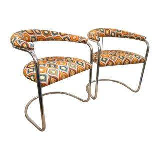 Anton Lorenz Chairs for Thonet - A Pair