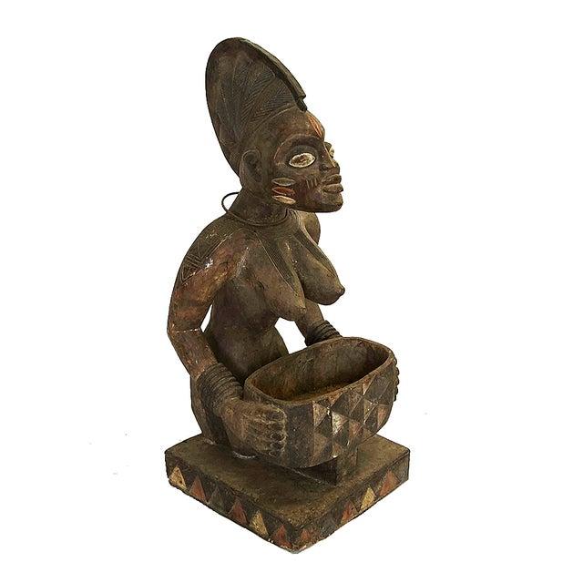 Antique African Fertility Statue Chairish