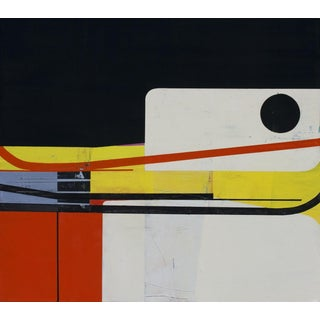 A Northern Zone, 2014, Oil on canvas over panel by Suzanne Laura Kammin.