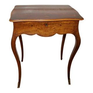 Antique Mirrored Vanity Table