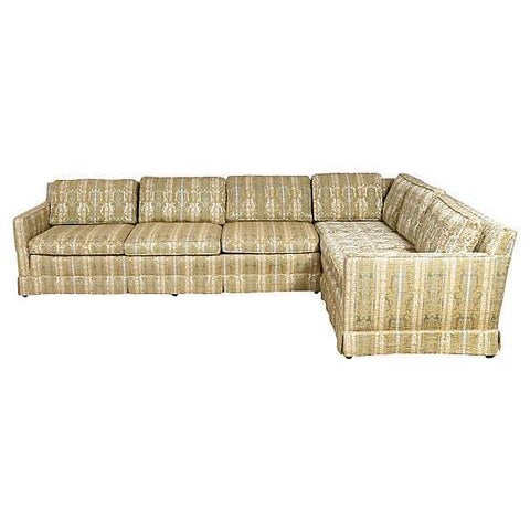 1960s John Stuart Sectional Sofa - Image 5 of 10