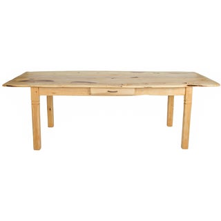 Long Farm Wood Table