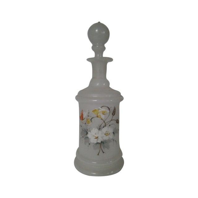 Antique Bristol Glass Decanter - Image 1 of 8